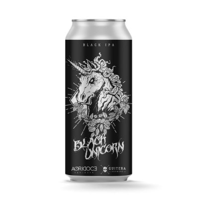 Black Unicorn - Black IPA - Agridoce/Guitera 473 ml