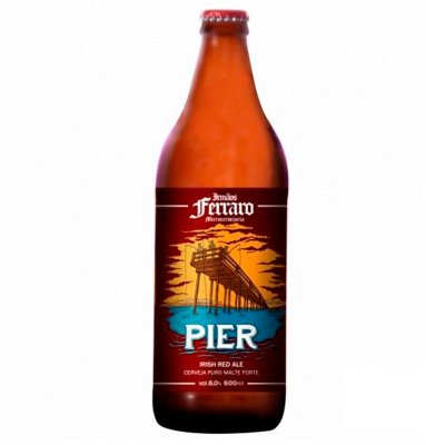 Pier - Irish Red Ale - 600 ml - Irmãos Ferraro