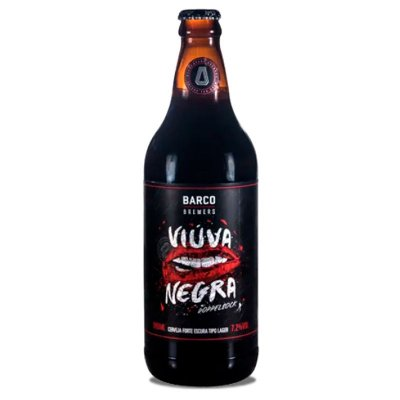 Viúva Negra - Doppelbock - 600 ml - Barco Brewers