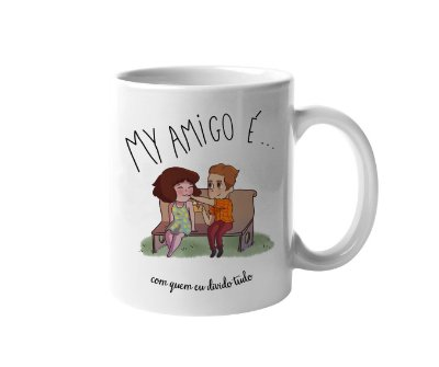 Caneca My Amigo - Sorvete