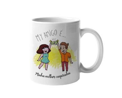 Caneca My Amigo - Caipirinha