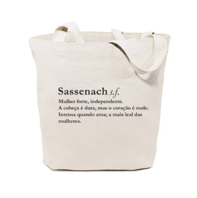 Ecobag Dicionário Sassenach