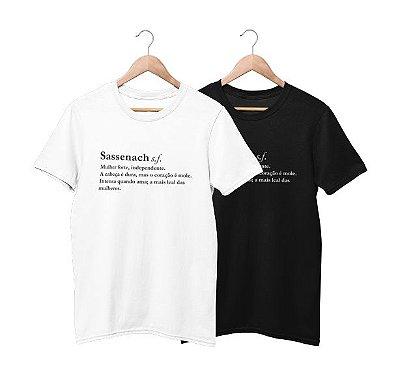 Camiseta Sassenach Dicionário
