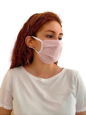Kit com 2 Máscaras Anatômicas 100% Algodão (estampas diversas)