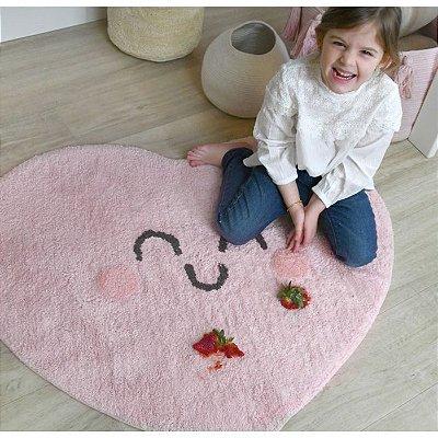 Tapete Infantil 90 x 105 Lorena Canals Happy Heart