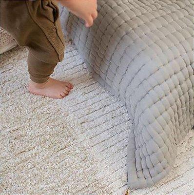 TAPETE INFANTIL 120 X 160 CM LORENA CANALS REVERSIVEL GELATO OLIVIA