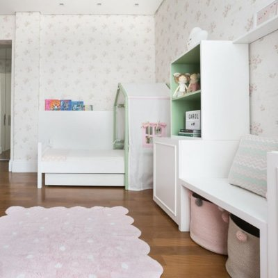 Tapete Infantil 1,20 X 1,60 Lorena Canals Galleta Rosa