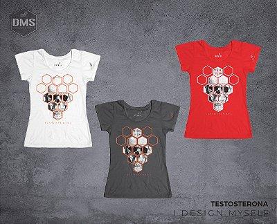Camiseta Testosterona Feminina
