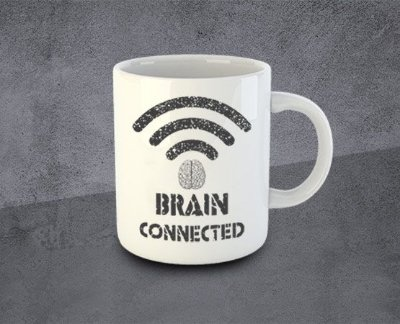 Caneca Brain Connected