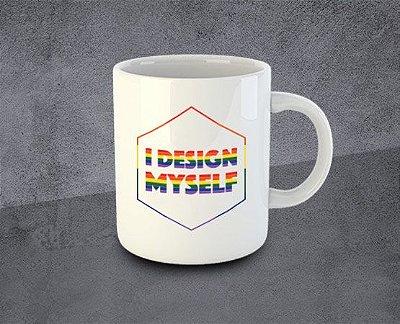 Caneca I Design Myself Diversidade