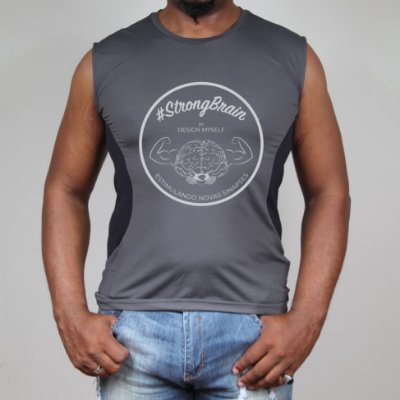 Camiseta #StrongBrain Masculina