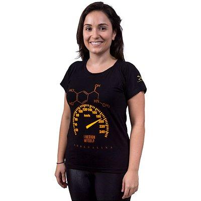Camiseta Adrenalina Feminina