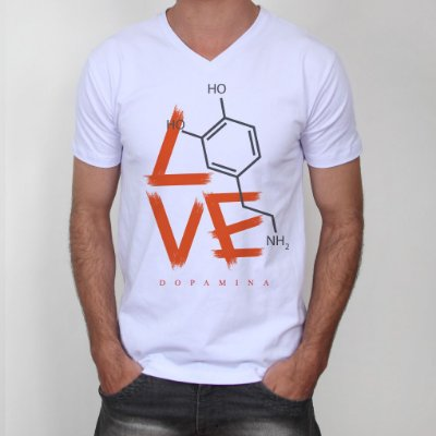 Camiseta Dopamina Masculina
