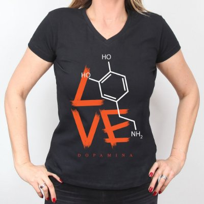Camiseta Dopamina Feminina