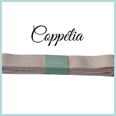 Fita stretch para sapatilha de ballet (Cor Rosa-Coppélia)