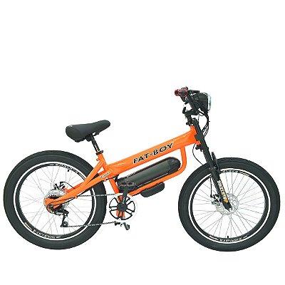 Bicicleta Elétrica Motorizada FatBike Aro 24 Bikelete painel