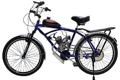 Bicicleta Motorizada Caiçara Sport com Bagageiro 80cc