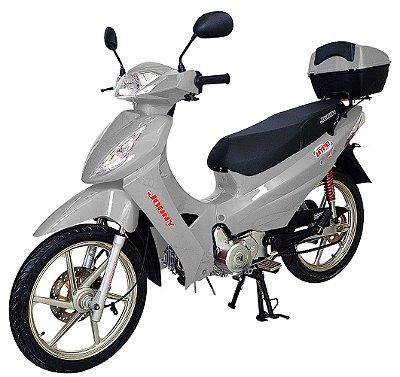 Moto Jonny Hype 125cc Zero Km - Prata -  Somente Retirada