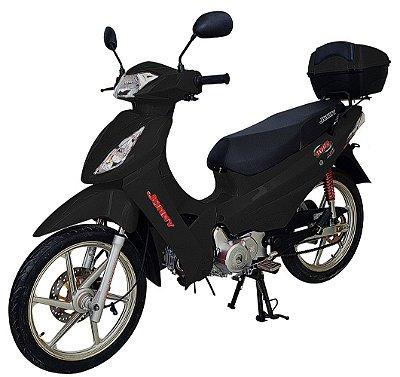 Moto Jonny Hype 125cc Zero Km - Preta - Somente Retirada