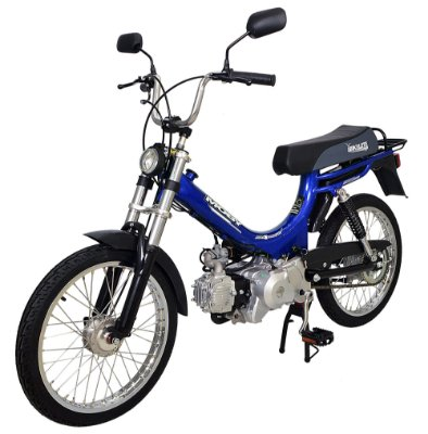 Mobilete 4 Tempos Bikelete Moby 4T Automática - Azul
