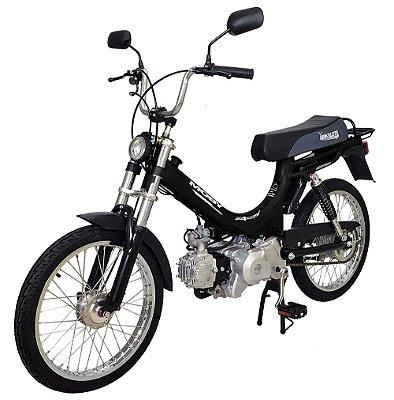 Mobilete 4 Tempos Bikelete Moby 4T Automática - Preta