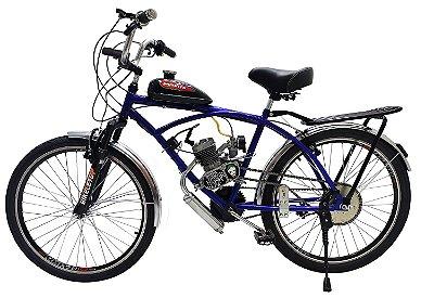 Bicicleta Motorizada Caiçara City com Suspensão Motor 80cc - Bikelete