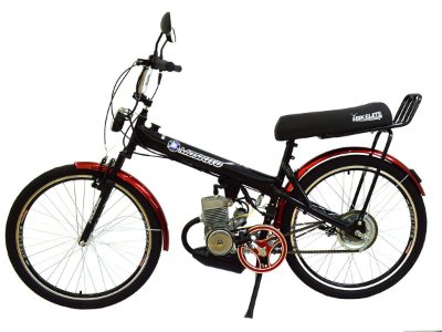 Bicicleta Motorizada Moskito Motor Automático Banco XR