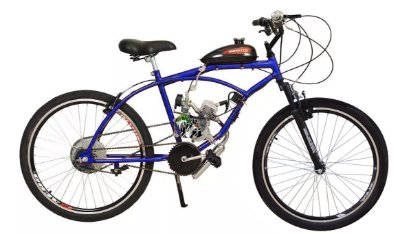 Caiçara 80cc sport Bicicleta Motorizada Bikelete
