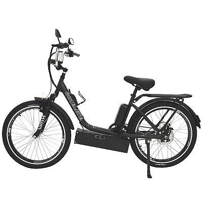 Bicicleta Elétrica Sonny Farol de LED - Preto