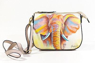 Bolsa AANIS Arte Mini Elefante Nude