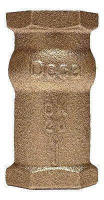 """Válvula de Retenção Vertical Bronze 1.1/2"""" - Fig. 447"""