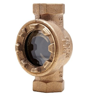 "Visor de Fluxo Bronze 1.1/4"" - Fig. 088"