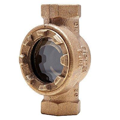 "Visor de Fluxo Bronze 1.1/2"" - Fig. 088"