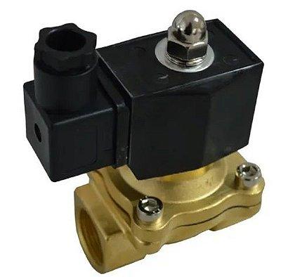 Válvula solenoide 1'' Vapor até 180 graus