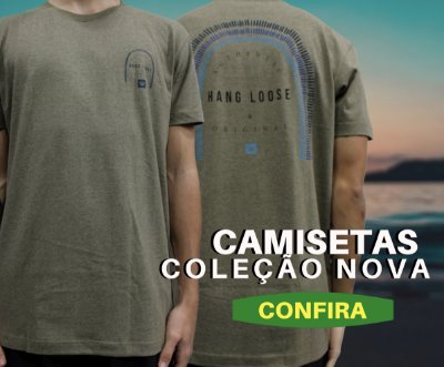 Camiseta Coleção nova