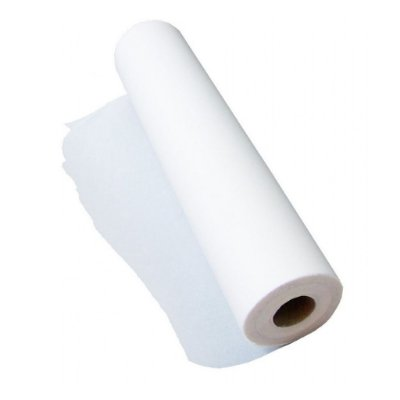 Lençol Hospitalar Folha Simples 50x50 (Branco) - 10 Unidades