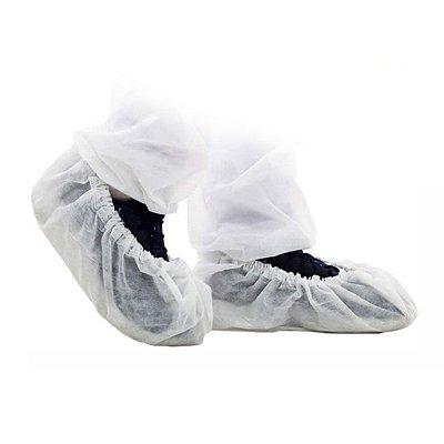 Propé (sapatilha) Descartável TNT com Elástico c/100