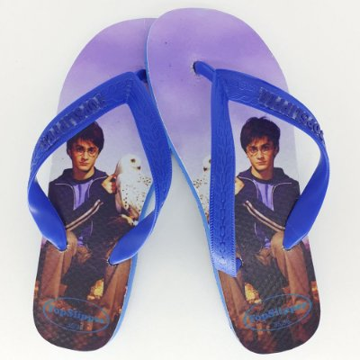 Chinelo Estampado Harry Potter Tira Tradicional