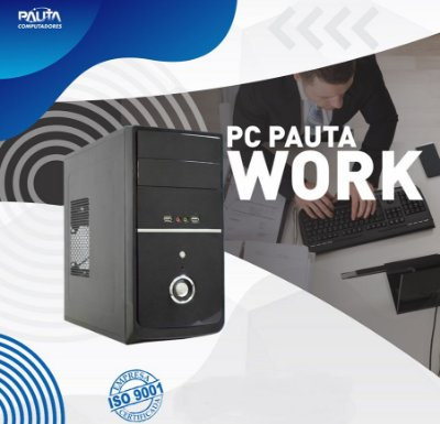 PC PAUTA WORK PENTIUM G5400 GOLD 3.7GHZ/ 4GB/ 120GB SSD/ FREEDOS