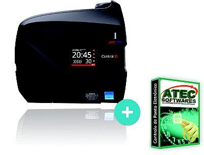 Relógio de ponto biométrico com software para calculo de horas (plano 12 meses)