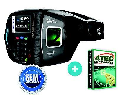 Relógio de ponto biométrico Henry Super Fácil Advanced com Software e Sem Mensalidade