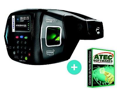 Relógio ponto biométrico e proximidade + software e suporte ilimitado ( Plano 12 meses)