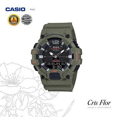Relógio Casio Masculino Standard Verde Escuro HDC-700-3A2V