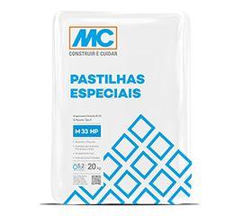 Argamassa M 33 Hp - Pastilhas Especiais - Cinza Platina