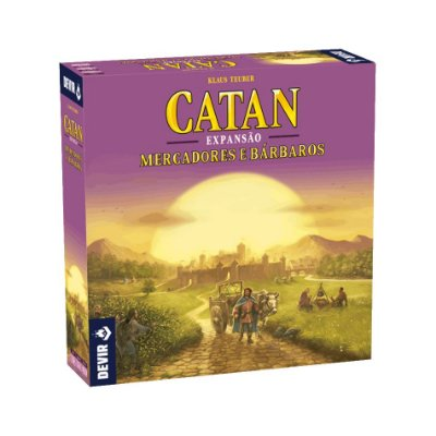 Catan - Mercadores e Bárbaros (Expansão)