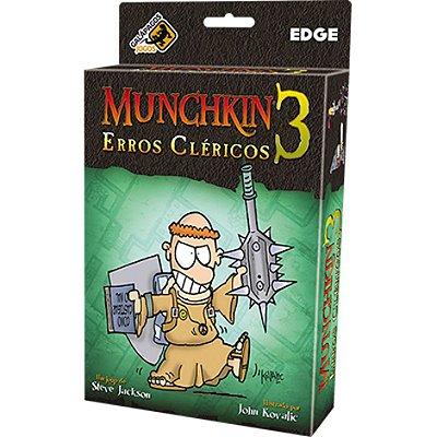 Munchkin 3 - Erros Cléricos (Expansão)