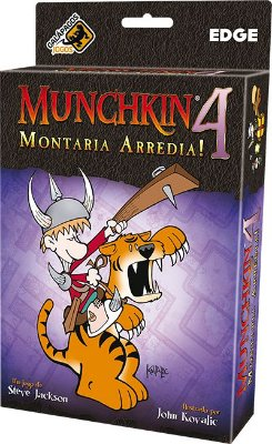 Munchkin 4 - Montaria Arredia! (Expansão)