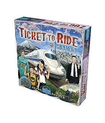 Ticket to Ride - Japão e Itália (Expansão)
