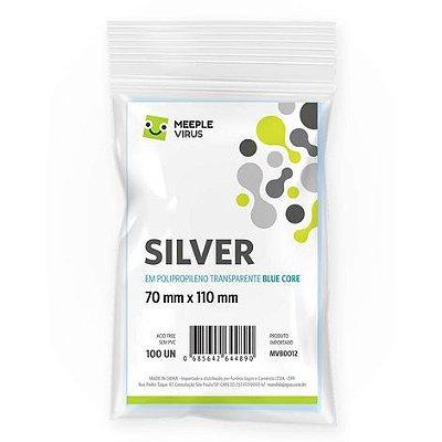 Sleeves Silver 70 x 110 mm (MeepleVirus)