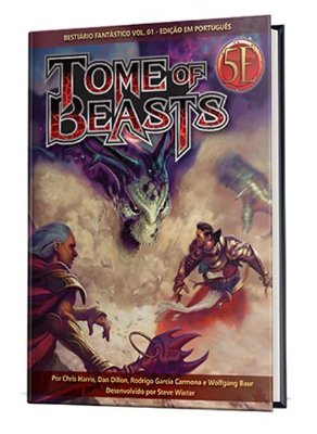 Dungeons & Dragons - Tome of Beasts: Bestiário Fantástico (Vol. 1)